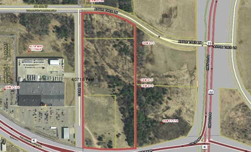 Commercial TIF Development Land for Sale in Waupaca County