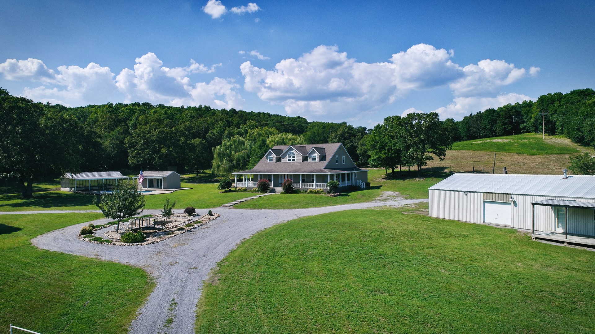 80 Acre Country Home