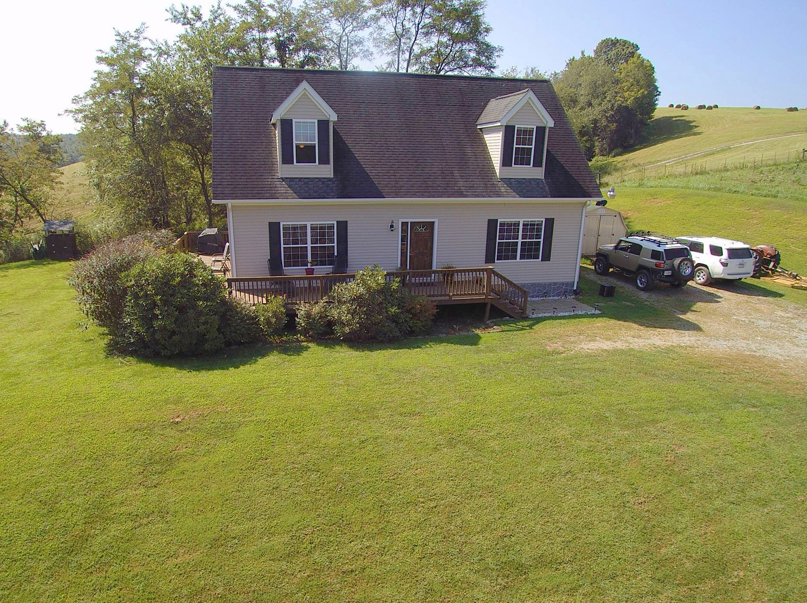 Home and Small Acreage Suitable for Horses in the Blue Ridge