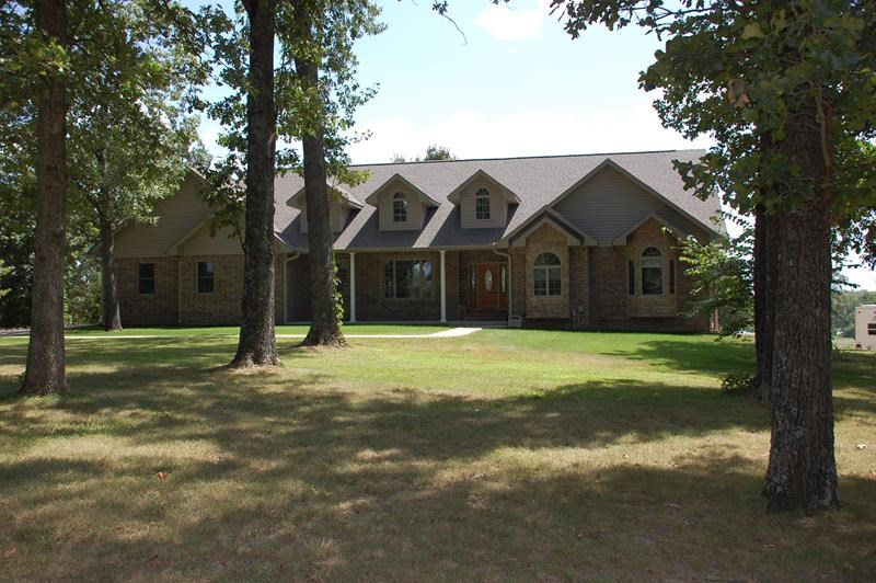 Arrowhead Lake View - Custom Built Atrium Home on 6.92 Acres