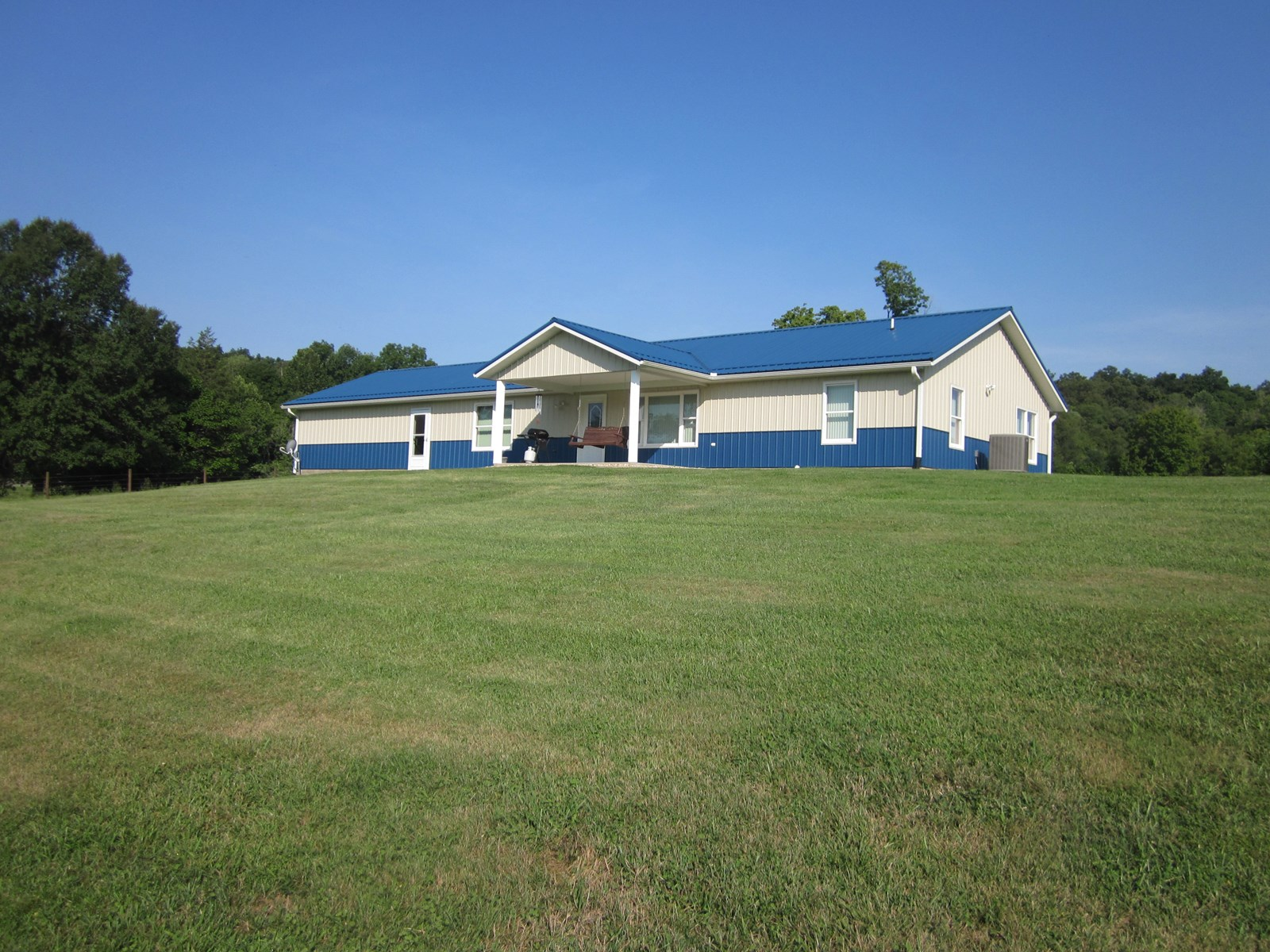 Country Home | Barns | Fenced Acreage | Springville, IN