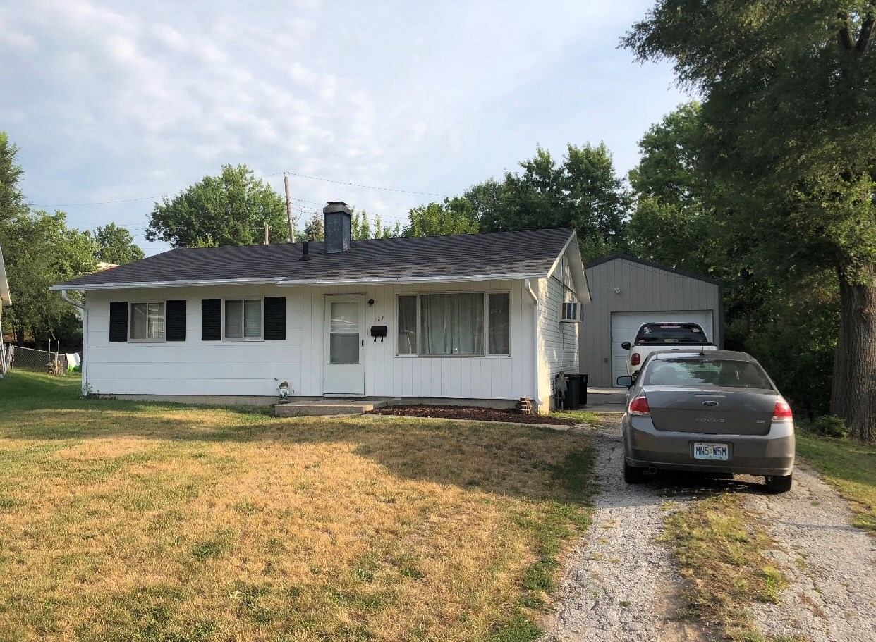 3 BEDROOM, 1 BATHROOM HOME IN MARYVILLE, MO