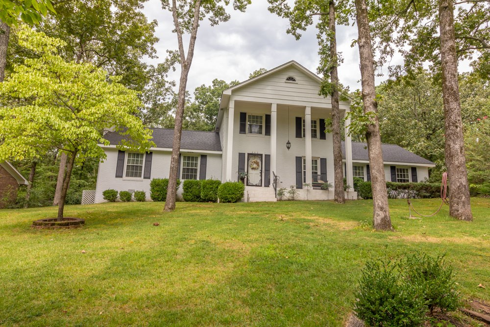 Stately Brick Home with Pool for sale in Selmer,TN