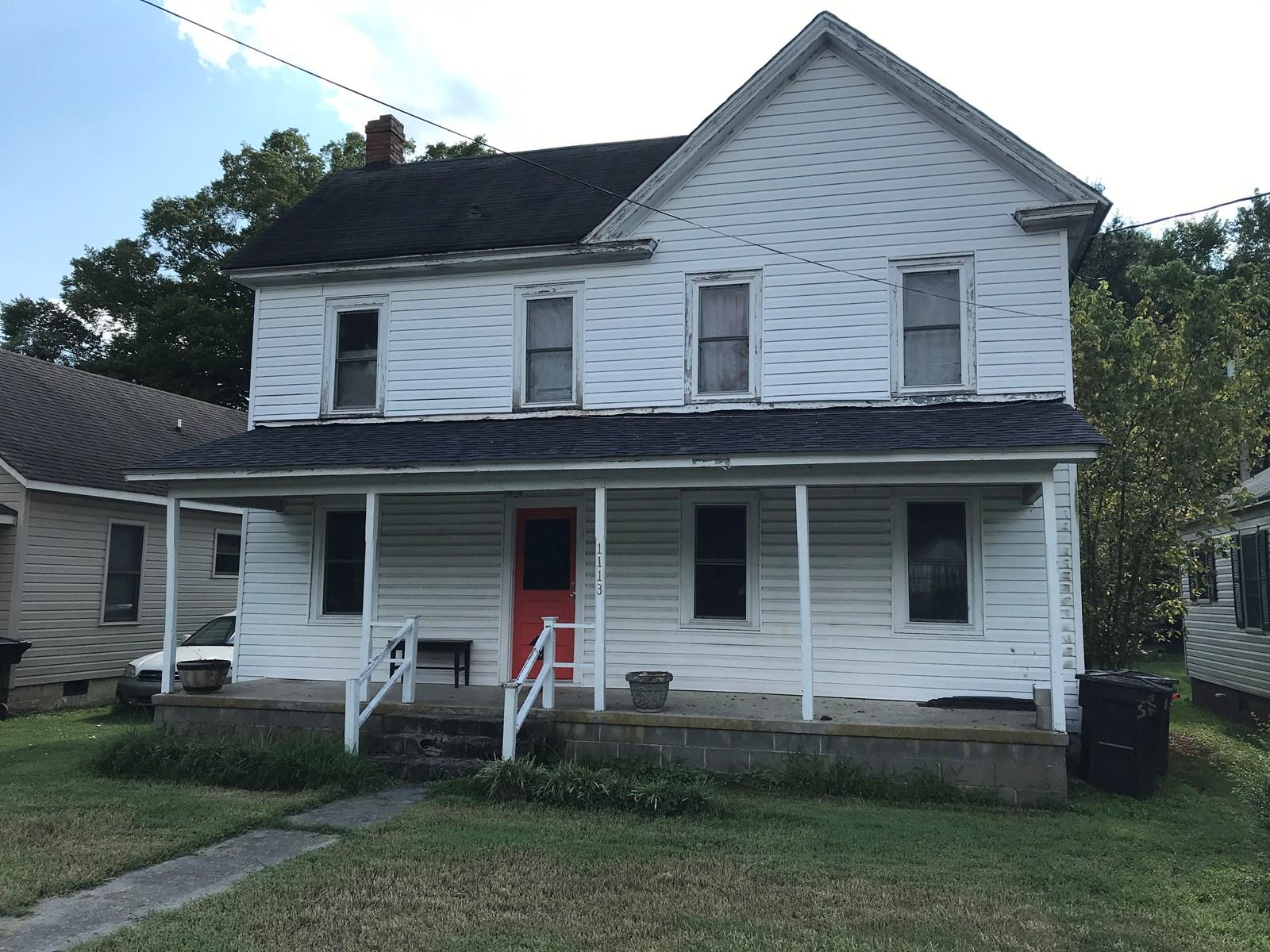1113 WOOD ST. ELIZABETH CITY, NC AUCTION