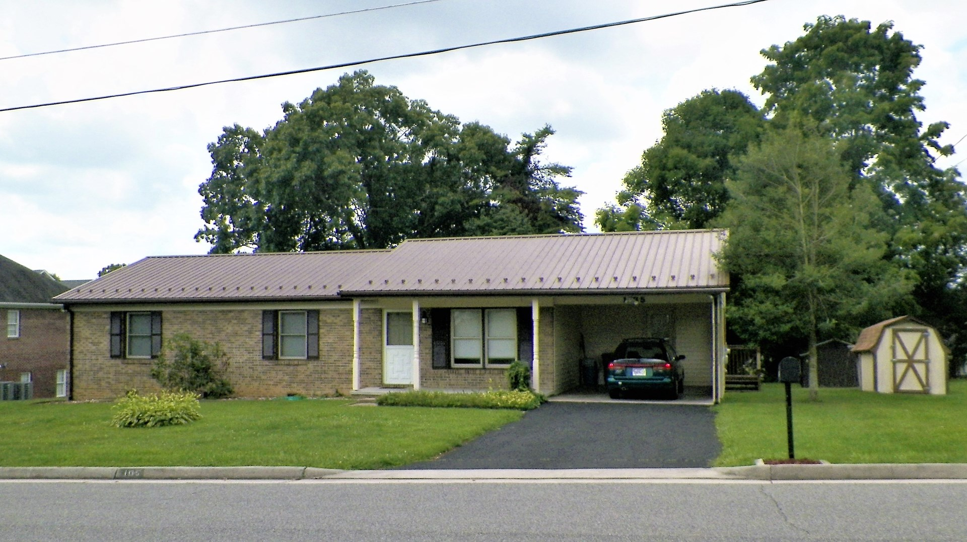 3 BR, 2 BA, Brick Ranch Home For Sale In Wytheville, VA