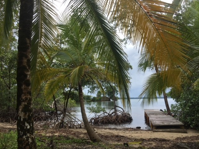 Great views,  Coastal Land Isla Popa Bocas del Toro Panama