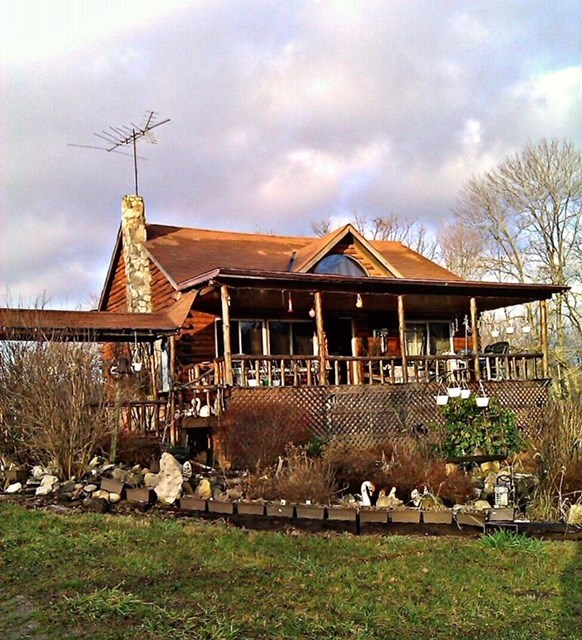 Log Home with 20+ Acres - Monroe County