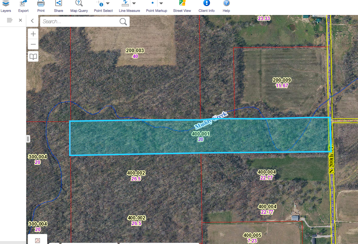 20 Acres on North 200th, Oblong, IL