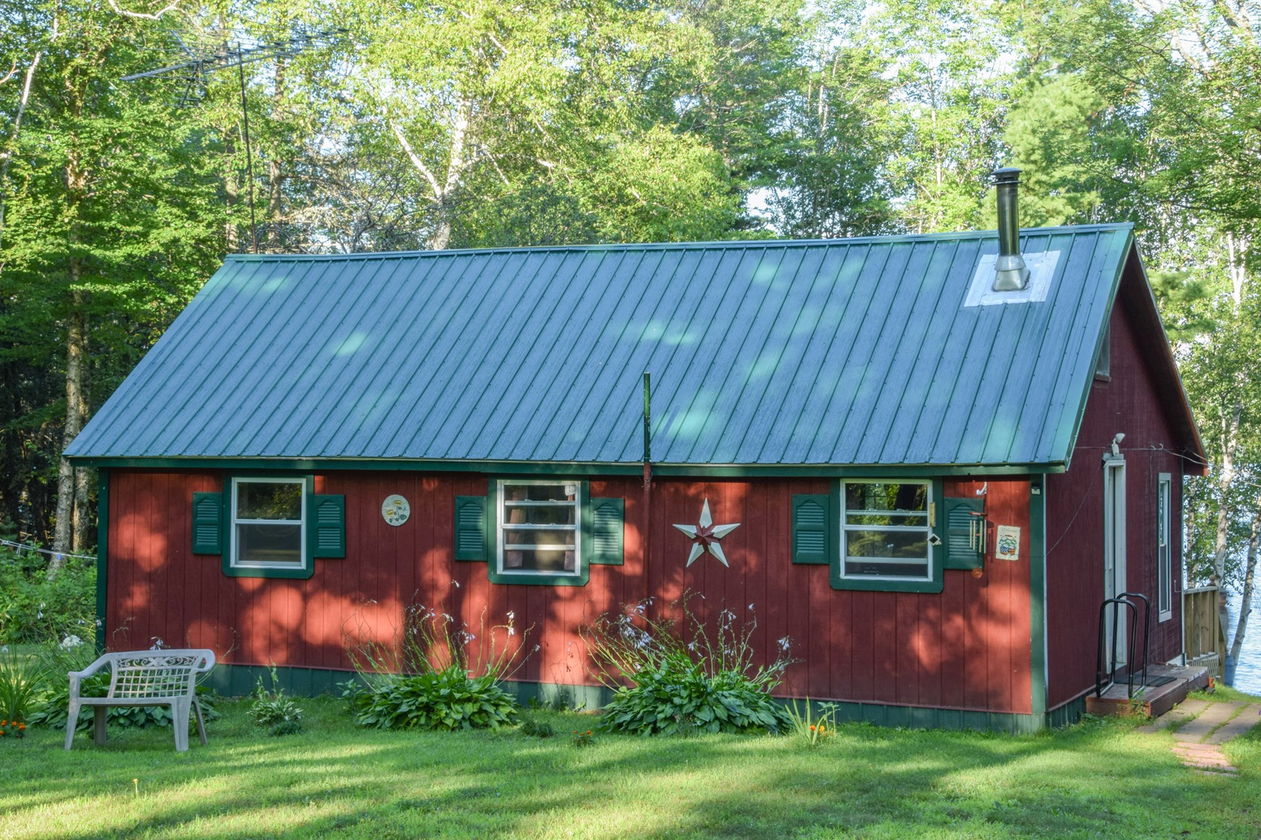 Off-Grid Camp For Sale in Molunkus, Maine
