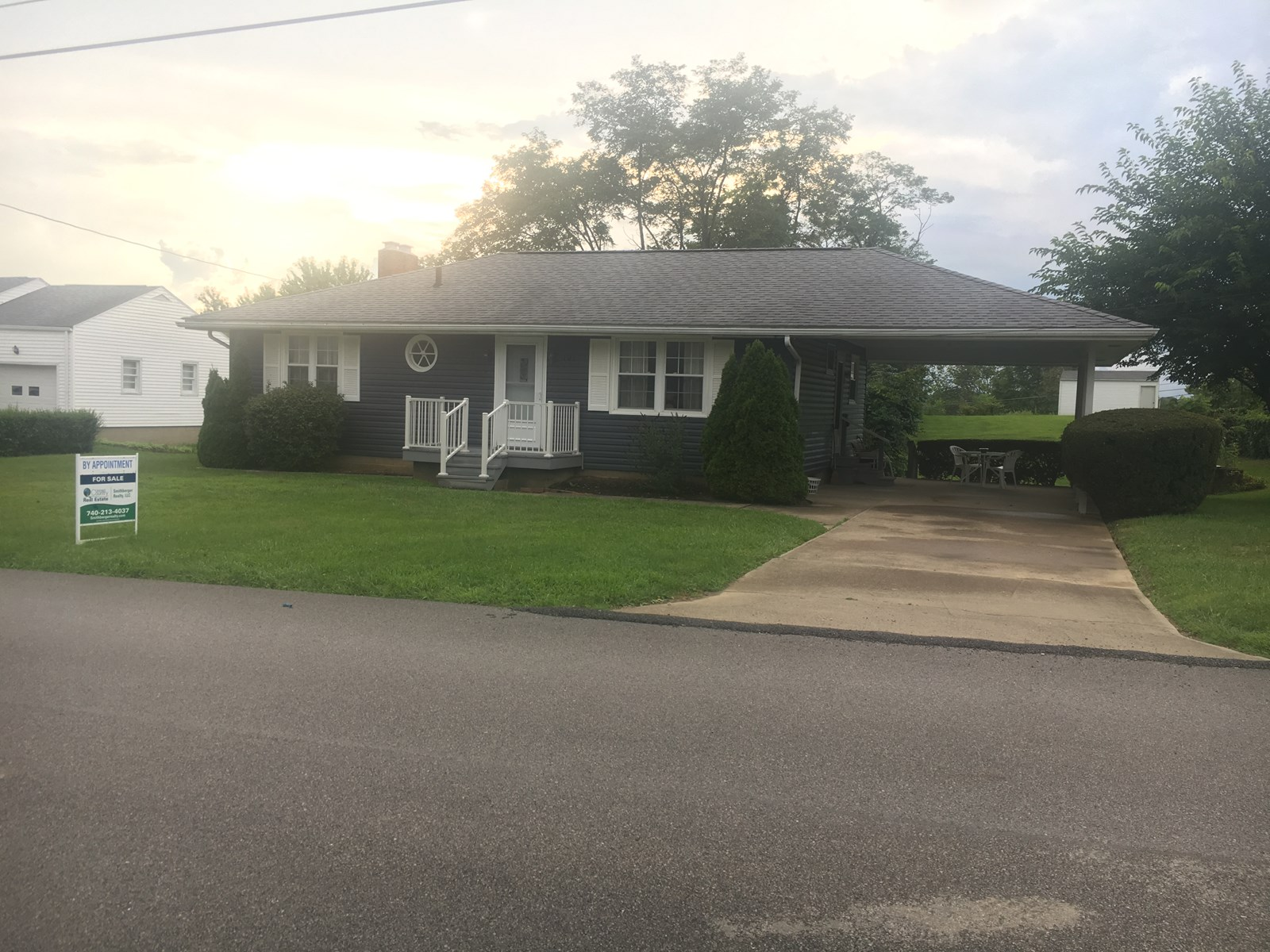 Woodsfield OH Ranch home on full basement