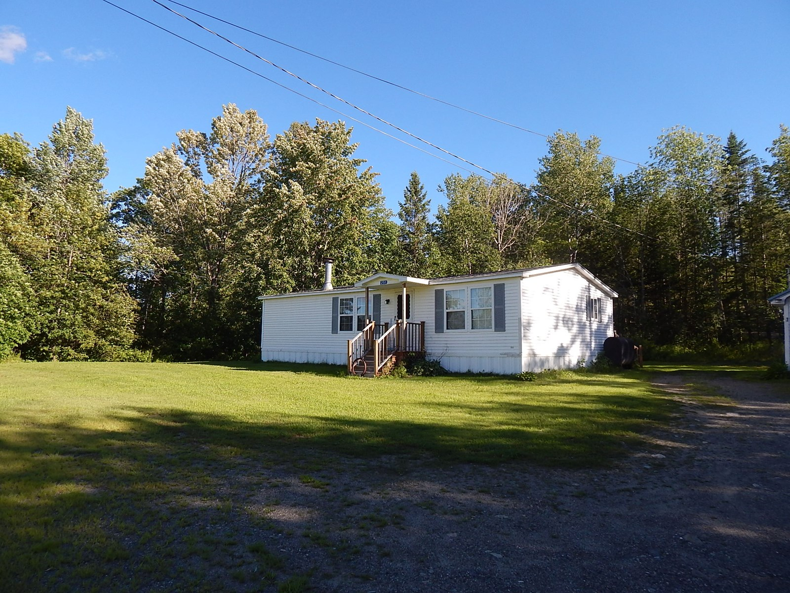 Well Cared For Double Wide For Sale In Medway, Maine