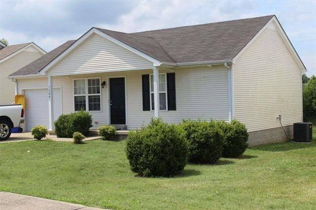 Nice 2 bedroom one bath home for sale in Bowling Green, Ky.