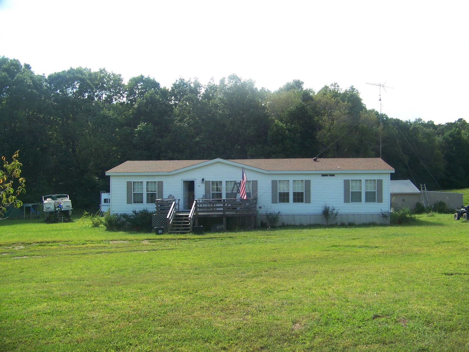 Tennessee Farm with Newer Mobile Home For Sale