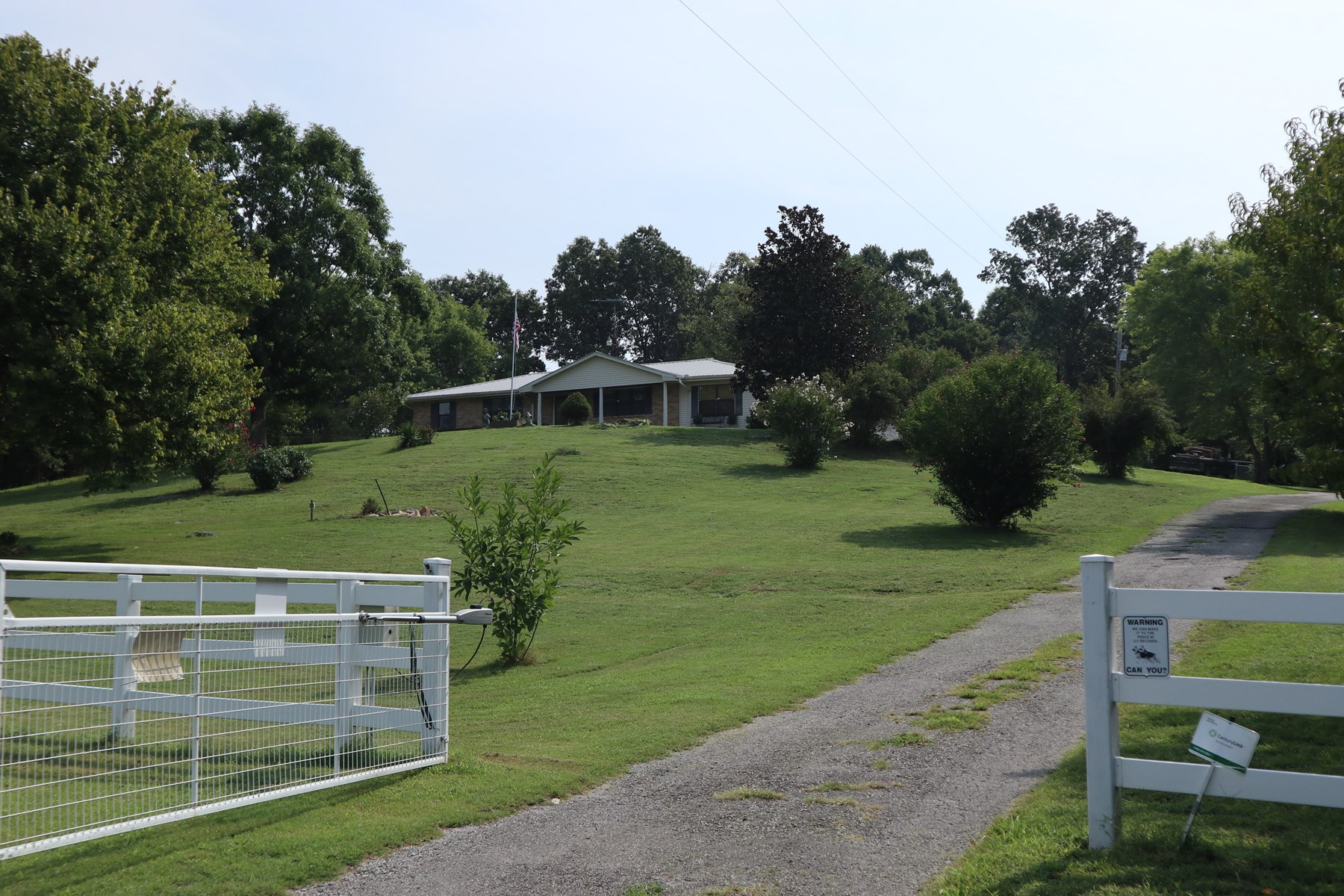 Country Home & Land with Hilltop View for Sale in Arkansas