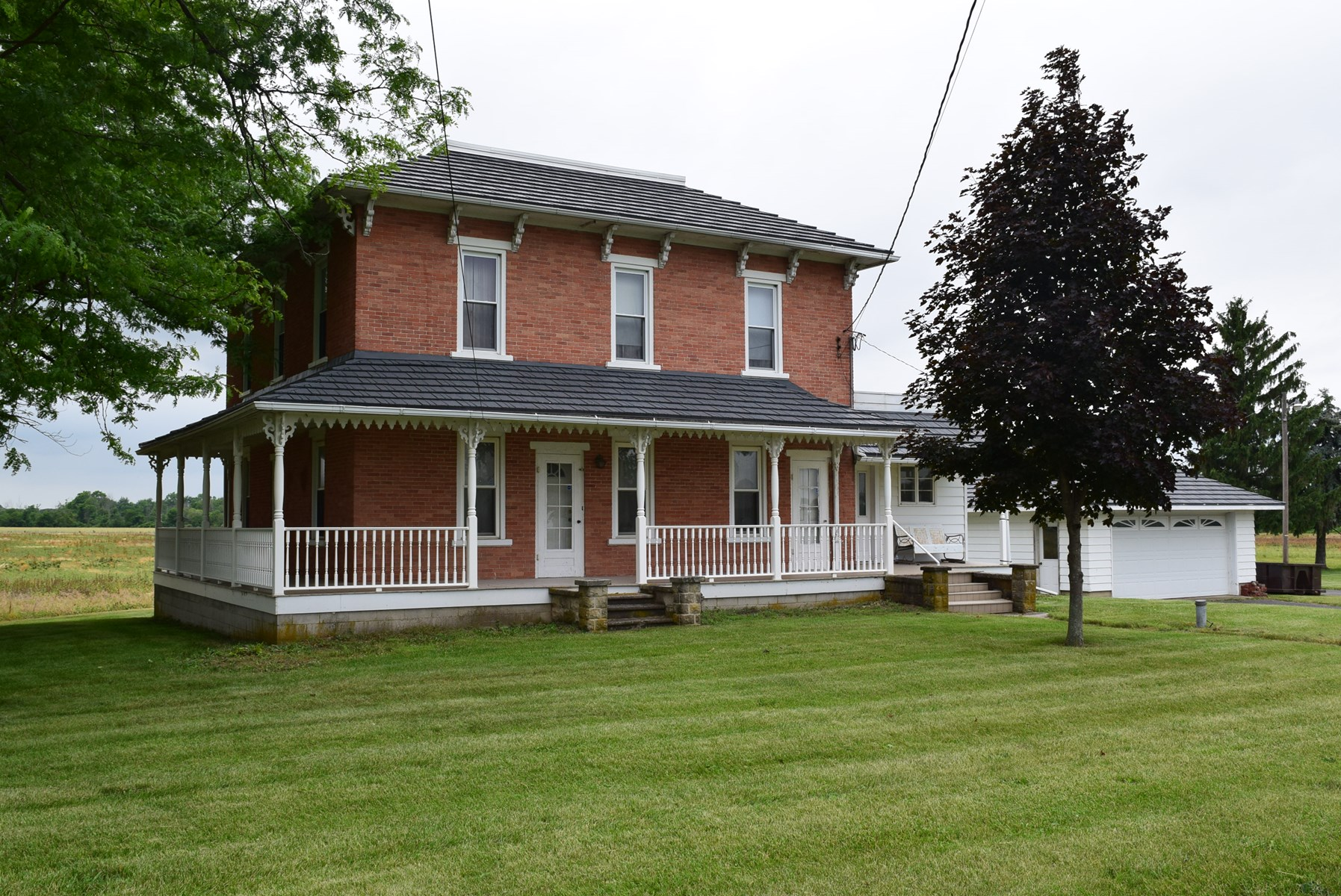 Historical Brick Home, Burgoon, OH - For Sale