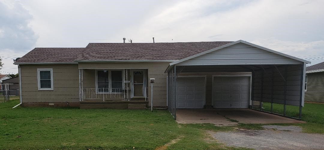 Anadarko Oklahoma 3 Bedroom Home for Sale Caddo County