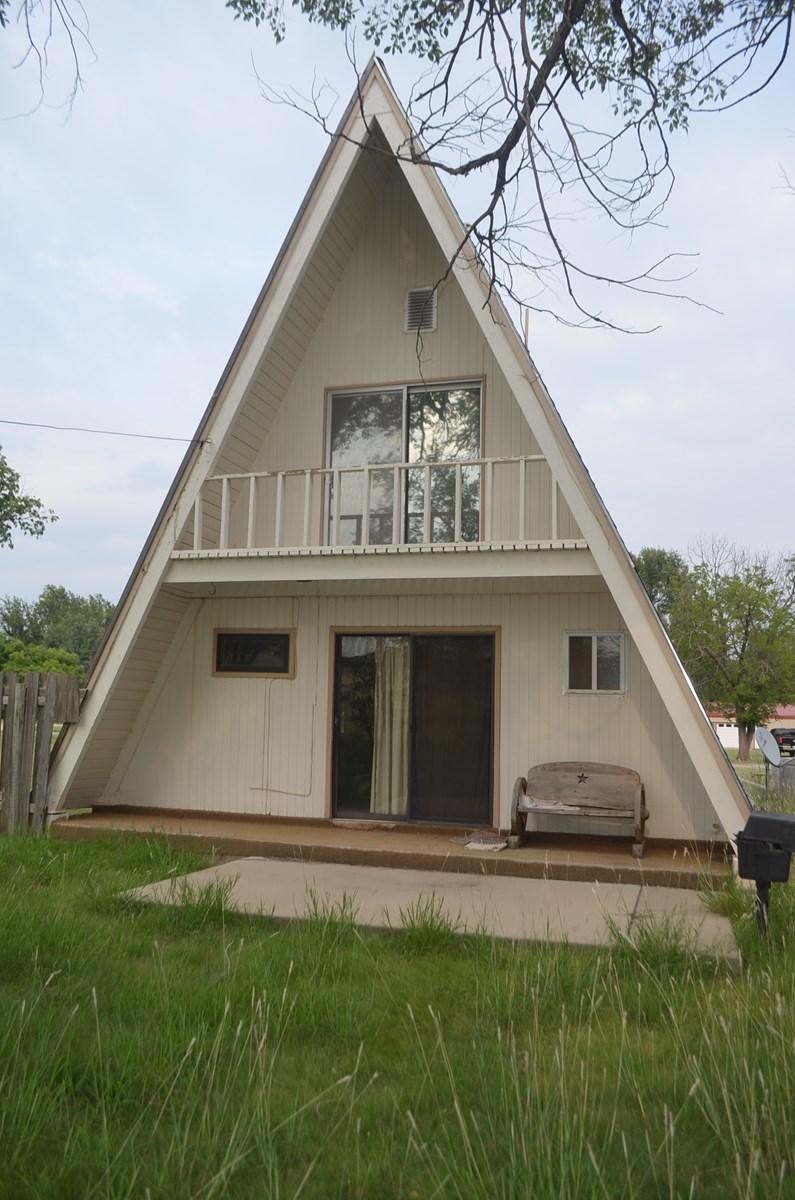 A-Frame Country Home For Sale In Protection, Kansas