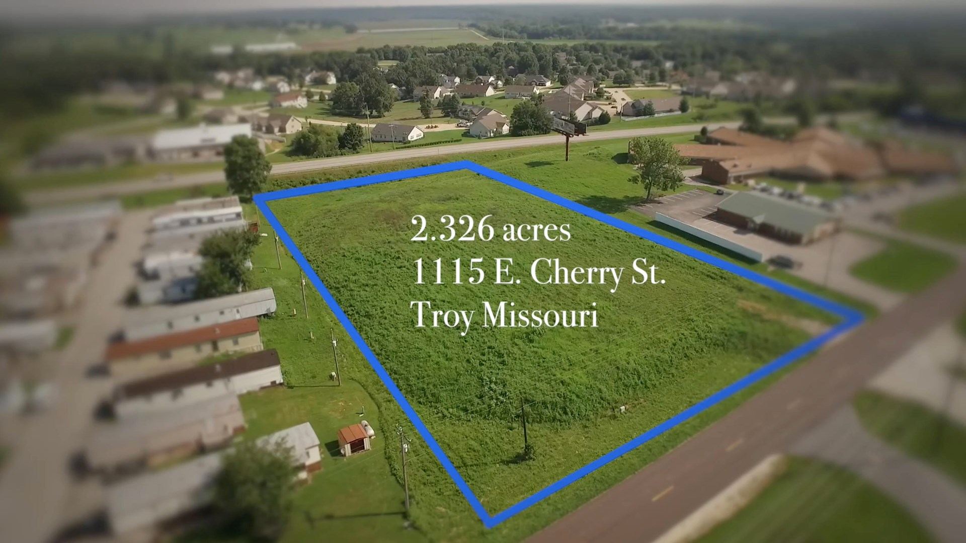 Commercial Development Land in Troy MO Lincoln County