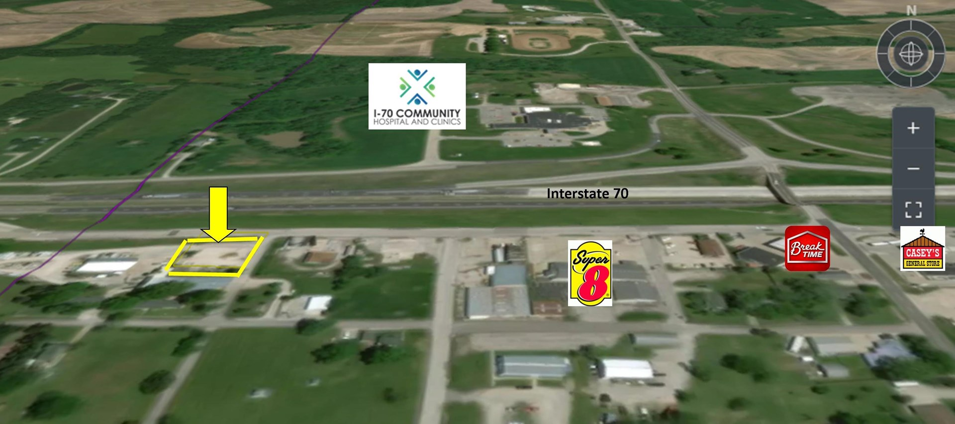 Absolute Commercial Land Auction Sweet Springs MO Saline Co
