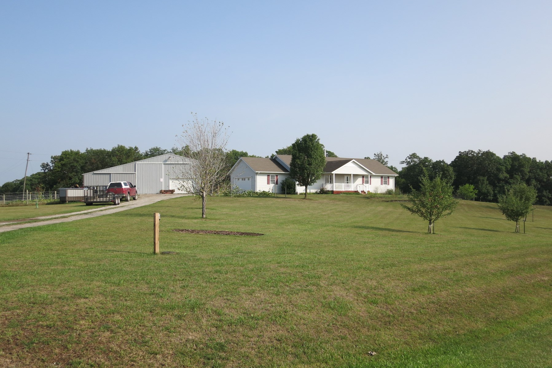 Northwest Mo. 4 Bedroom Ranch Home on 18 Acres