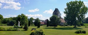 HISTORIC COUNTRY  FARM  HOME IN SAUK COUNTY ON 43 ACRES.