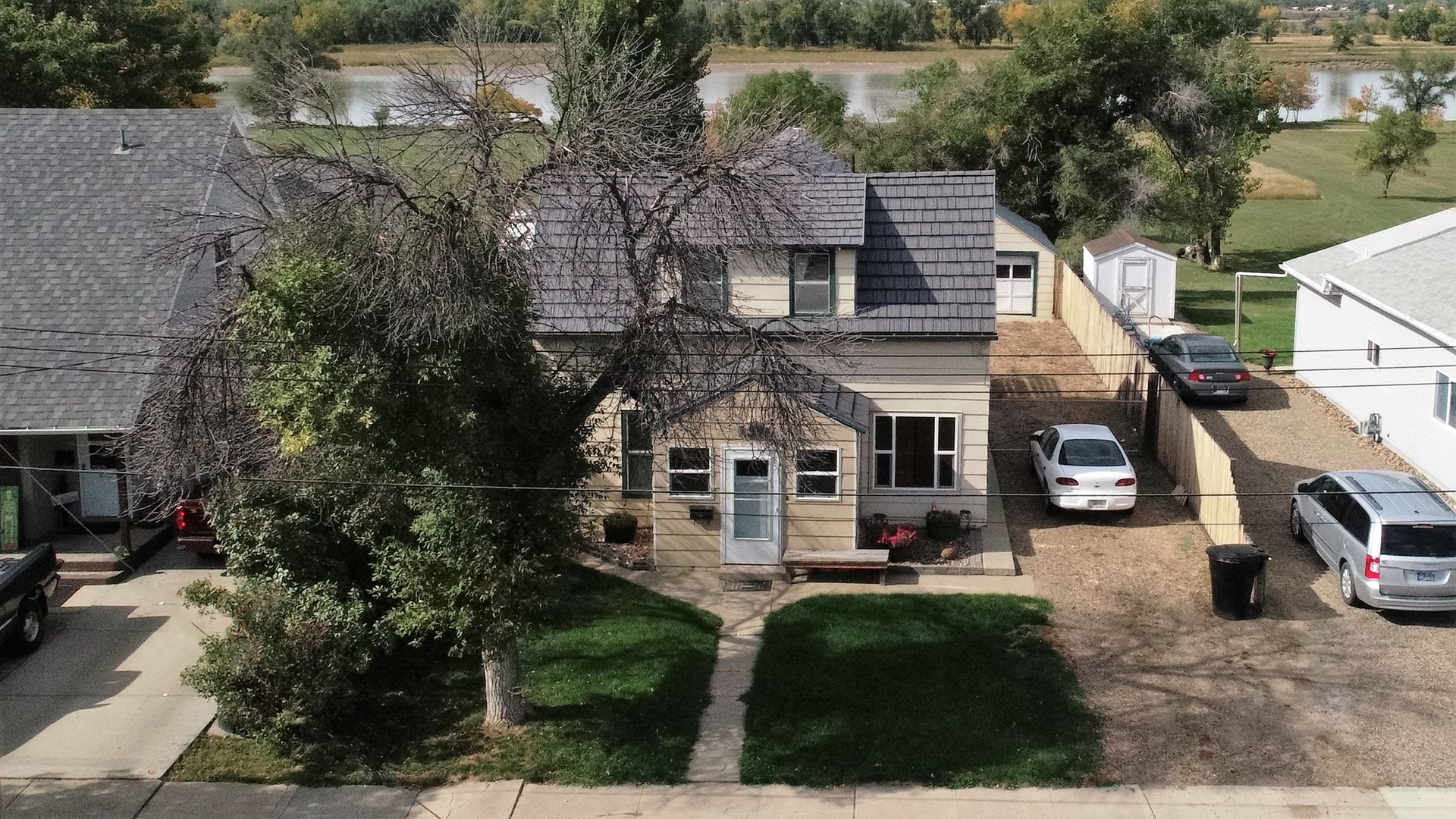 Updated Home for Sale with River Frontage in Glendive, MT