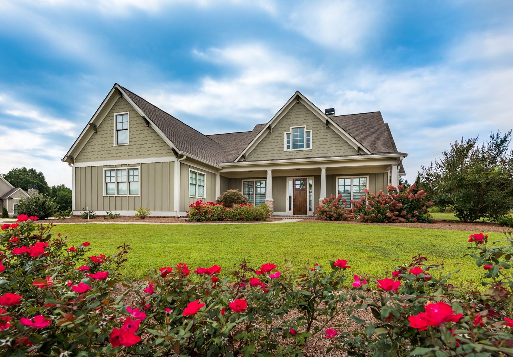 North Georgia Ranch Style Home Jasper GA Pickens County