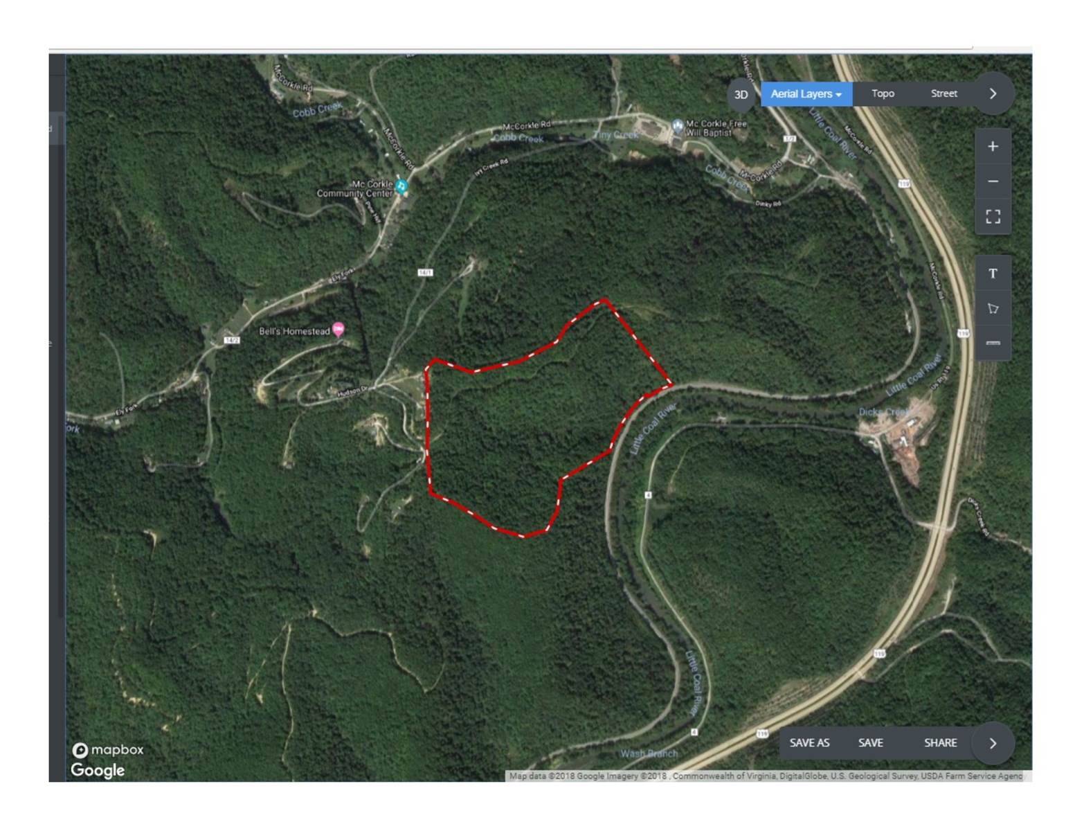 Real Estate Auction - Recreational   Investment   86 +/- acres