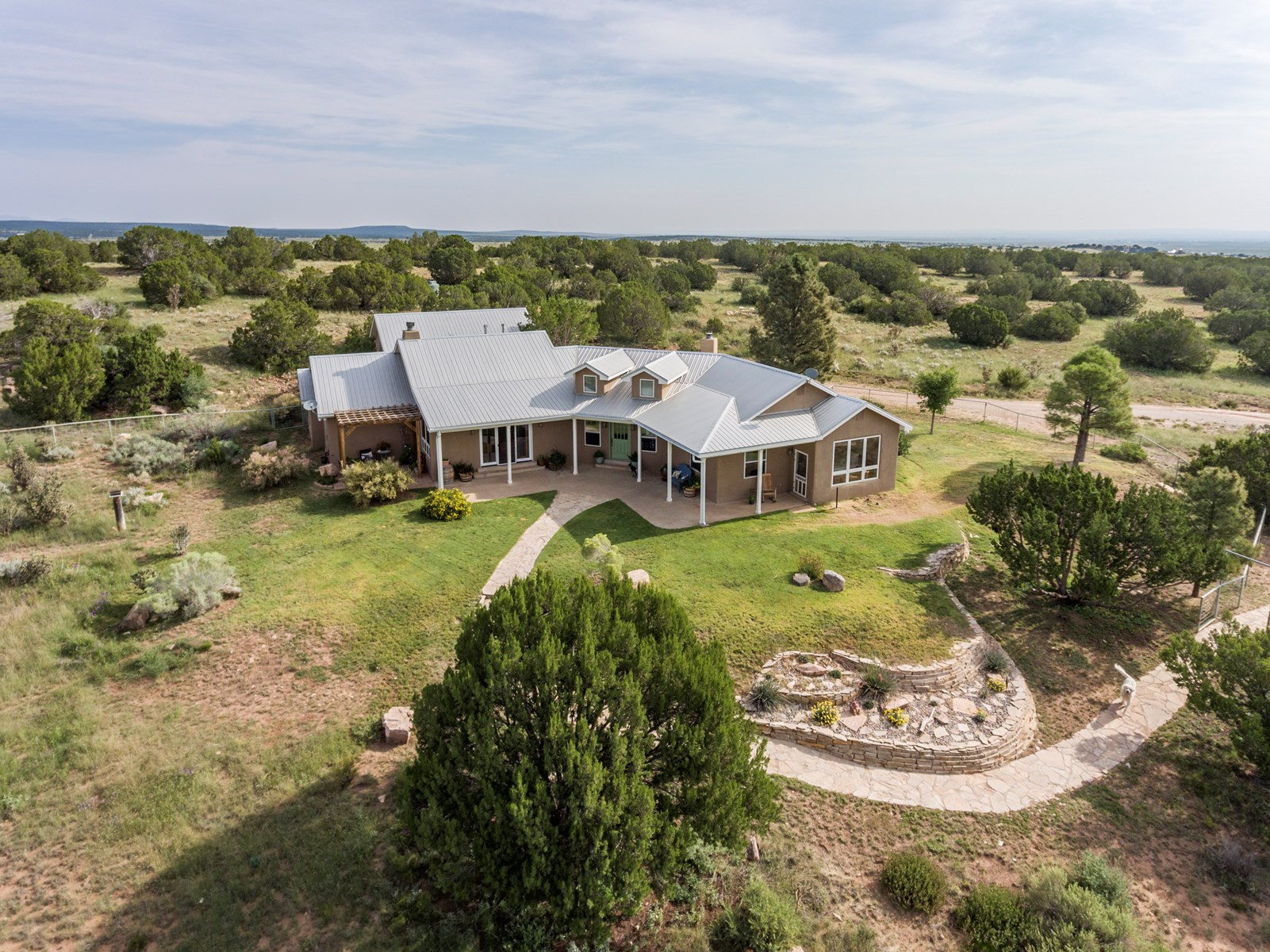 For Sale New Mexico Luxury Country Home on 40 Acres