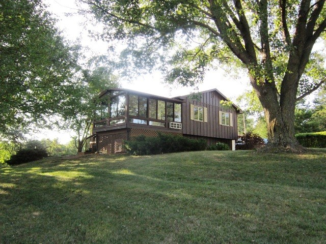 Wooded Acreage on Paved Road