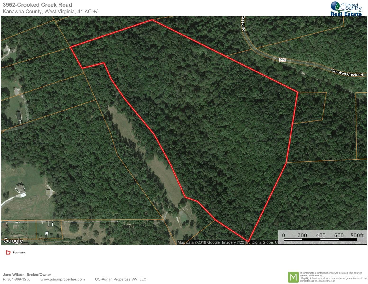 41 Ac. of Land for Residential, Recreational or Development