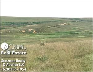 GOVE COUNTY, KS 640+/-  FARMLAND, GRASS & HUNTING PROPERTY