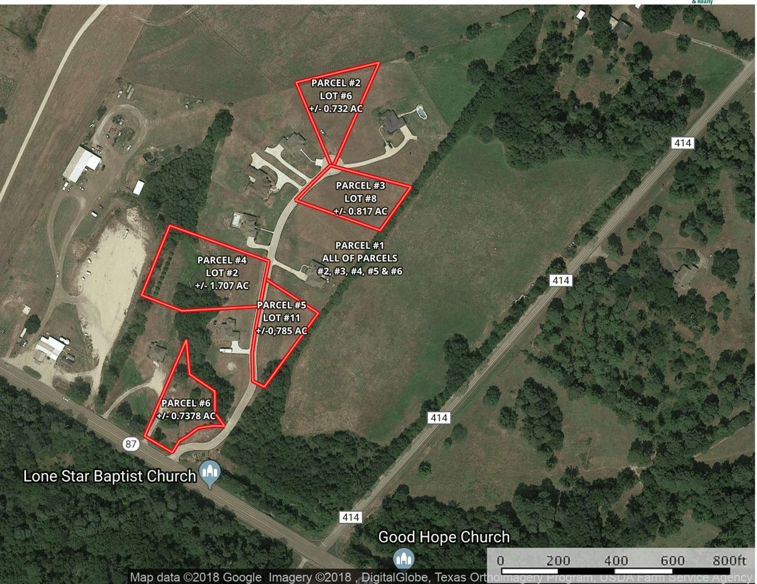 Magnolia Manor Lots For Sale Center TX Absolute Auction