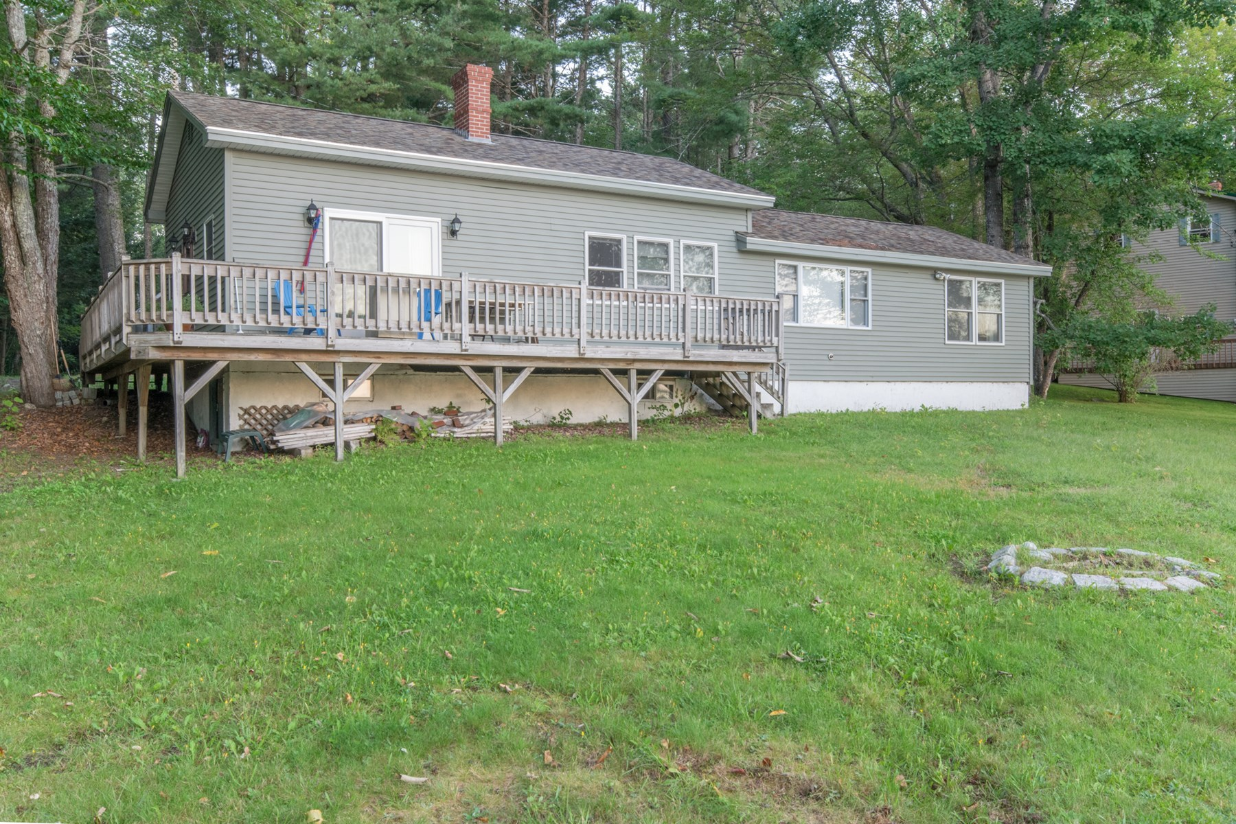 All-Season Lakefront Home For Sale | Lincoln, Maine