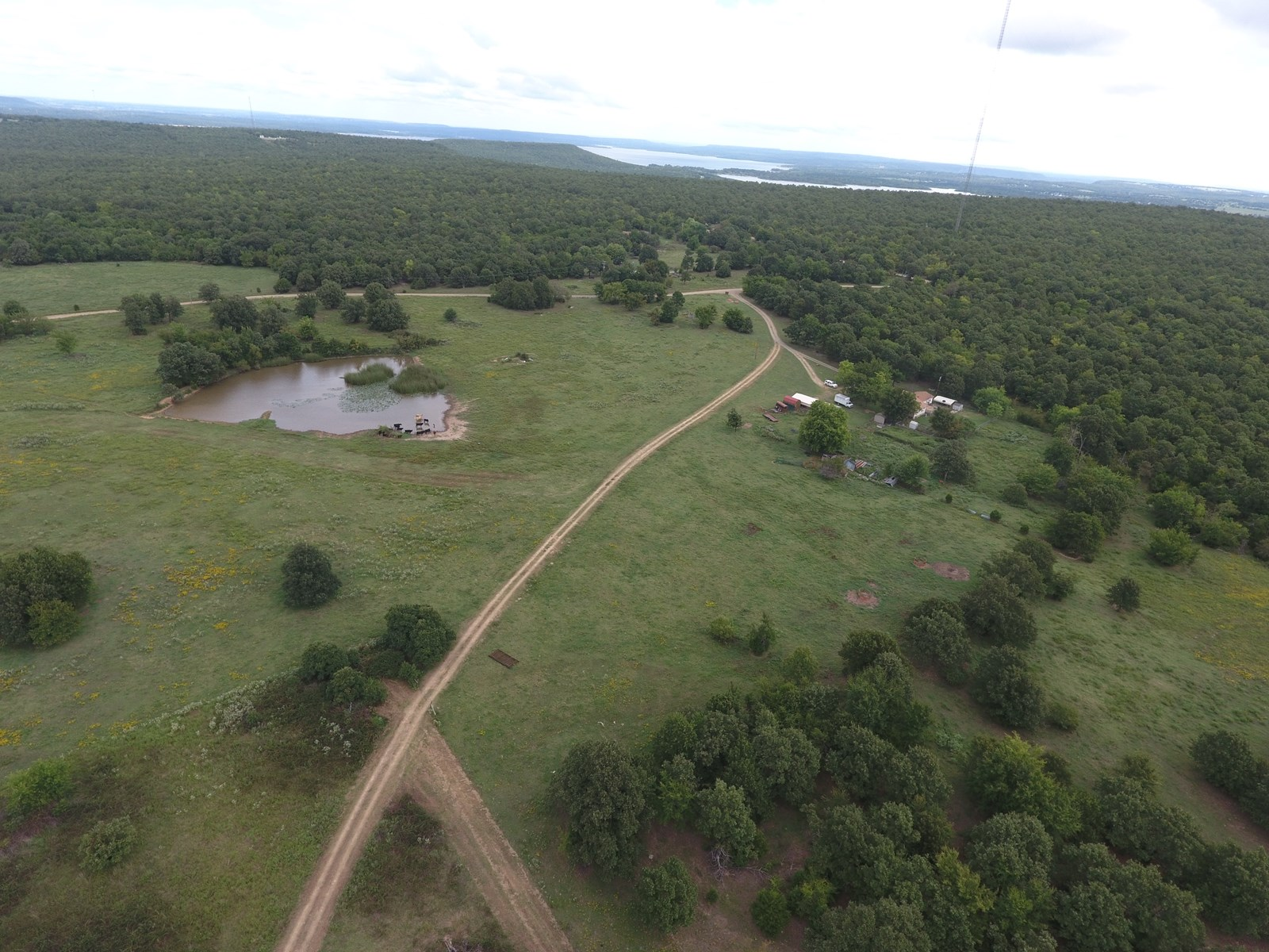 Country Home for sale, 60 acres, Stigler OK, Haskell Co.