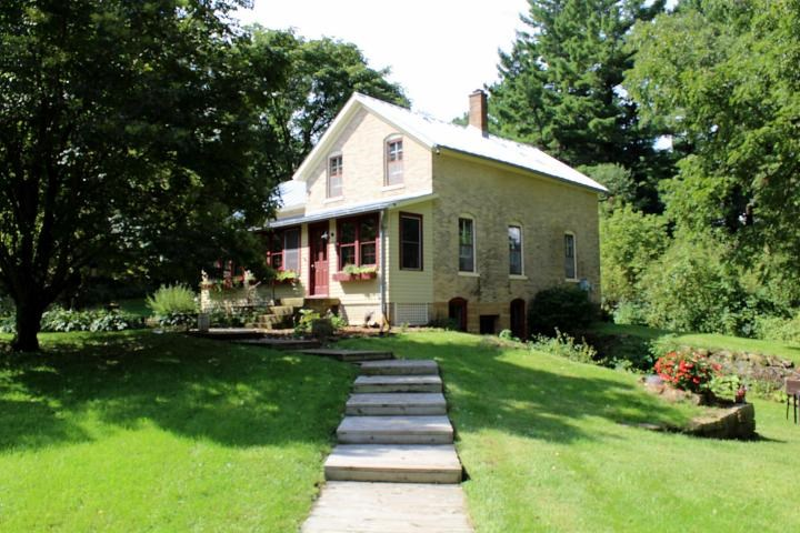 9 Acre Hobby Farm, fishing stream,  historic home for sale