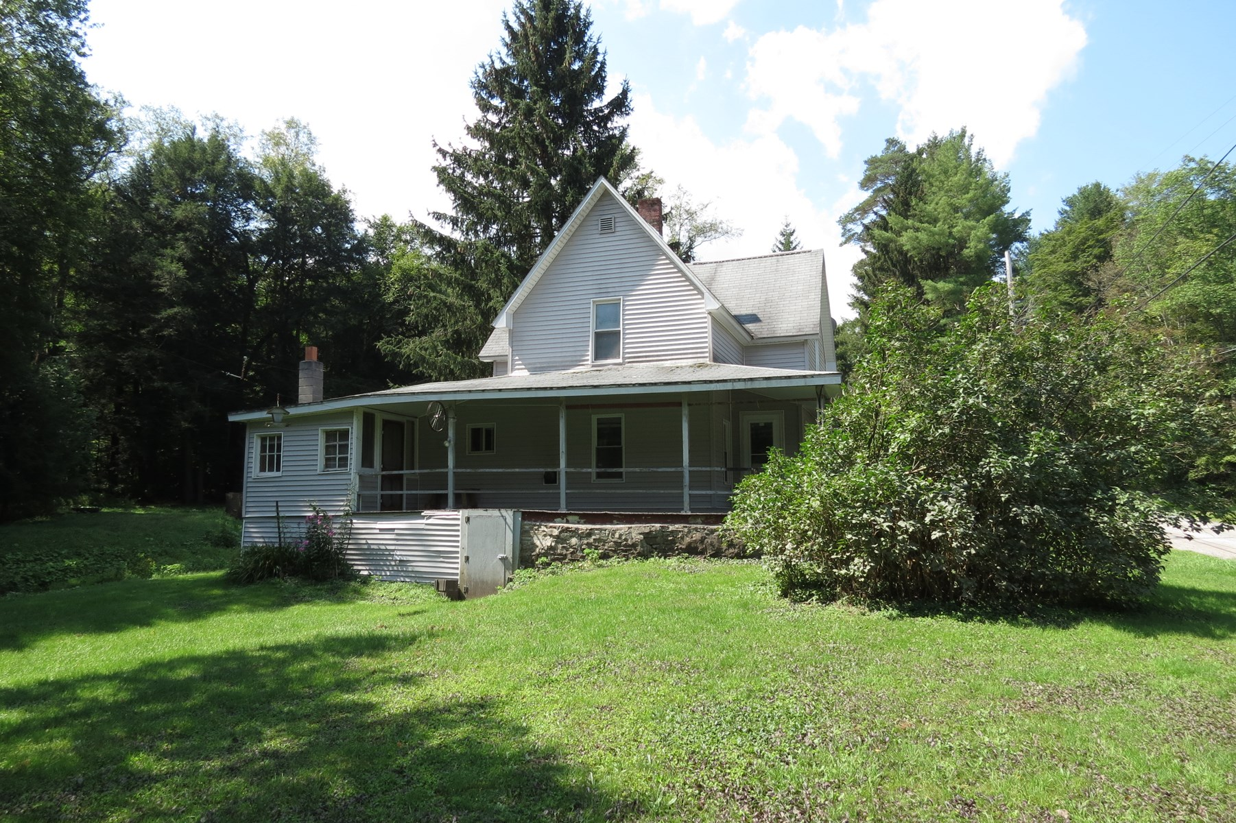 Potter County PA Home w/  Brookland Club Memberships AUCTION
