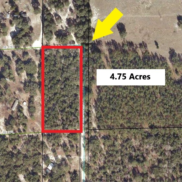 WOODED CORNER LOT IN GILCHRIST COUNTY- 4.75 Acres