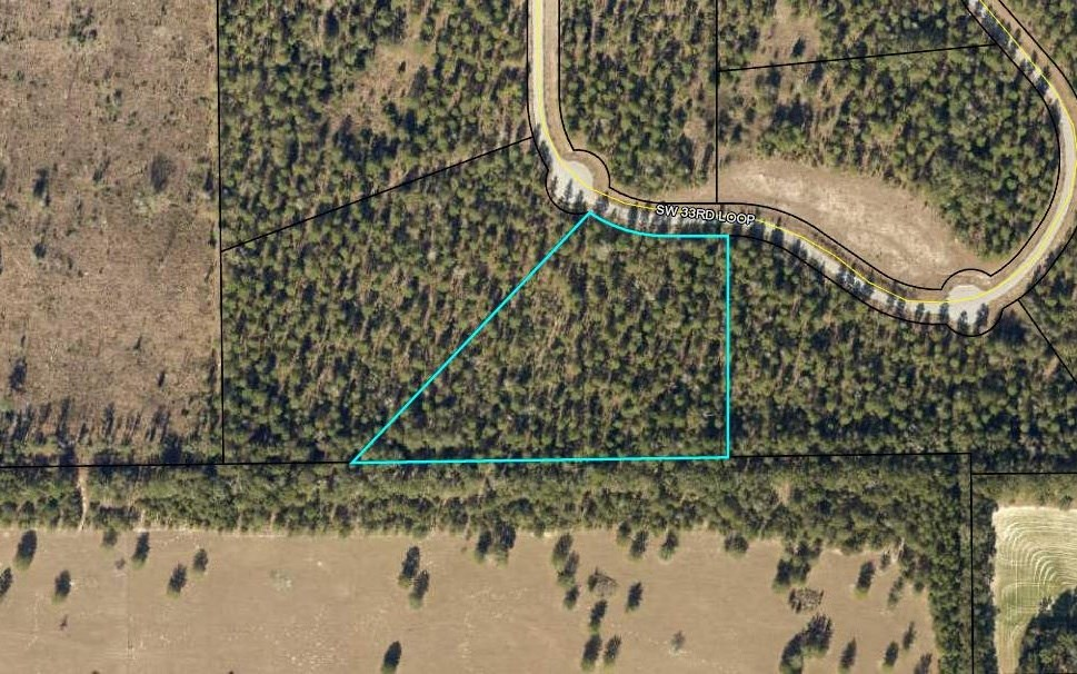 5 acre lot on paved road