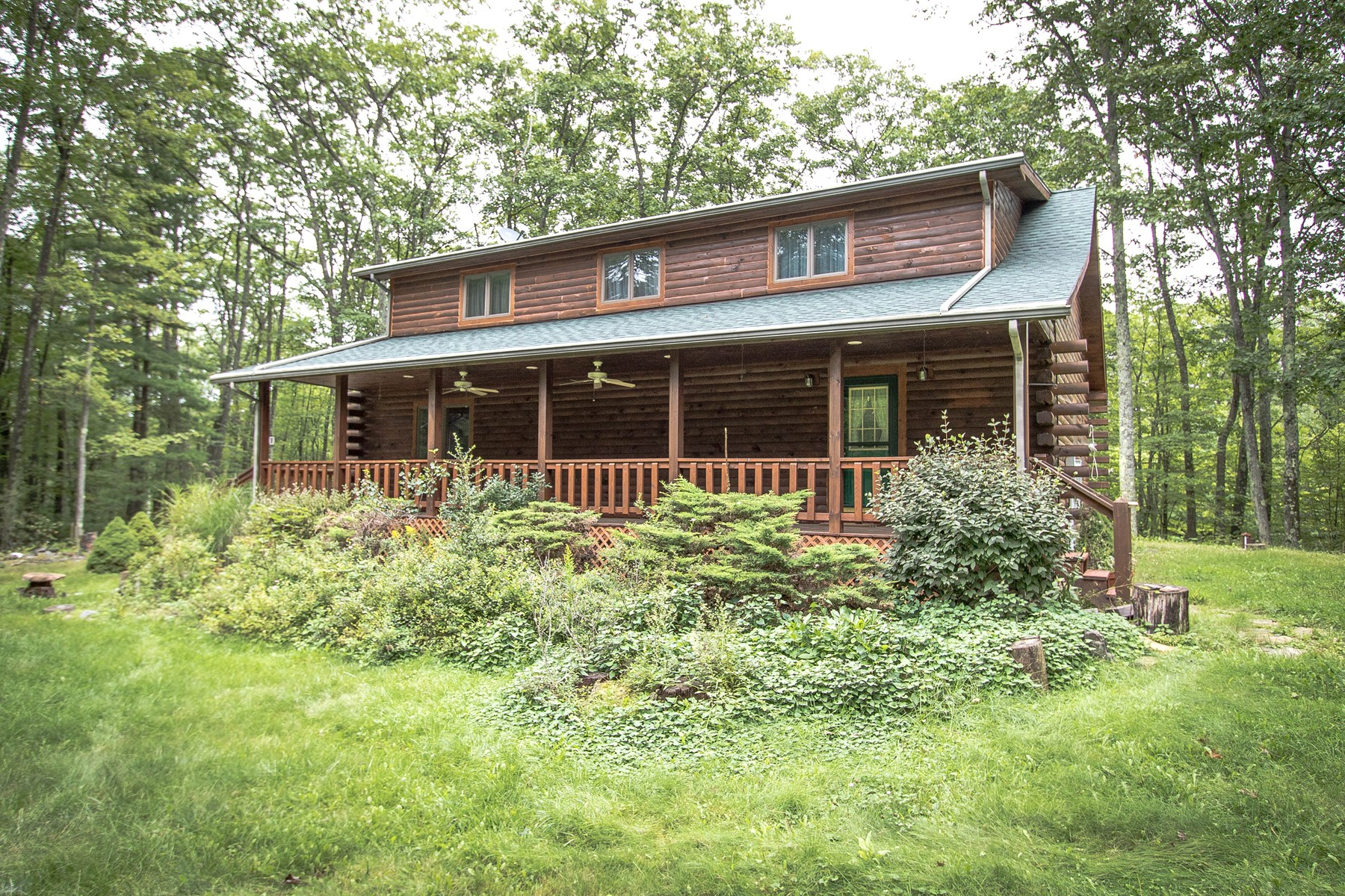 Log Home in Tioga County PA Near State Game Lands For Sale