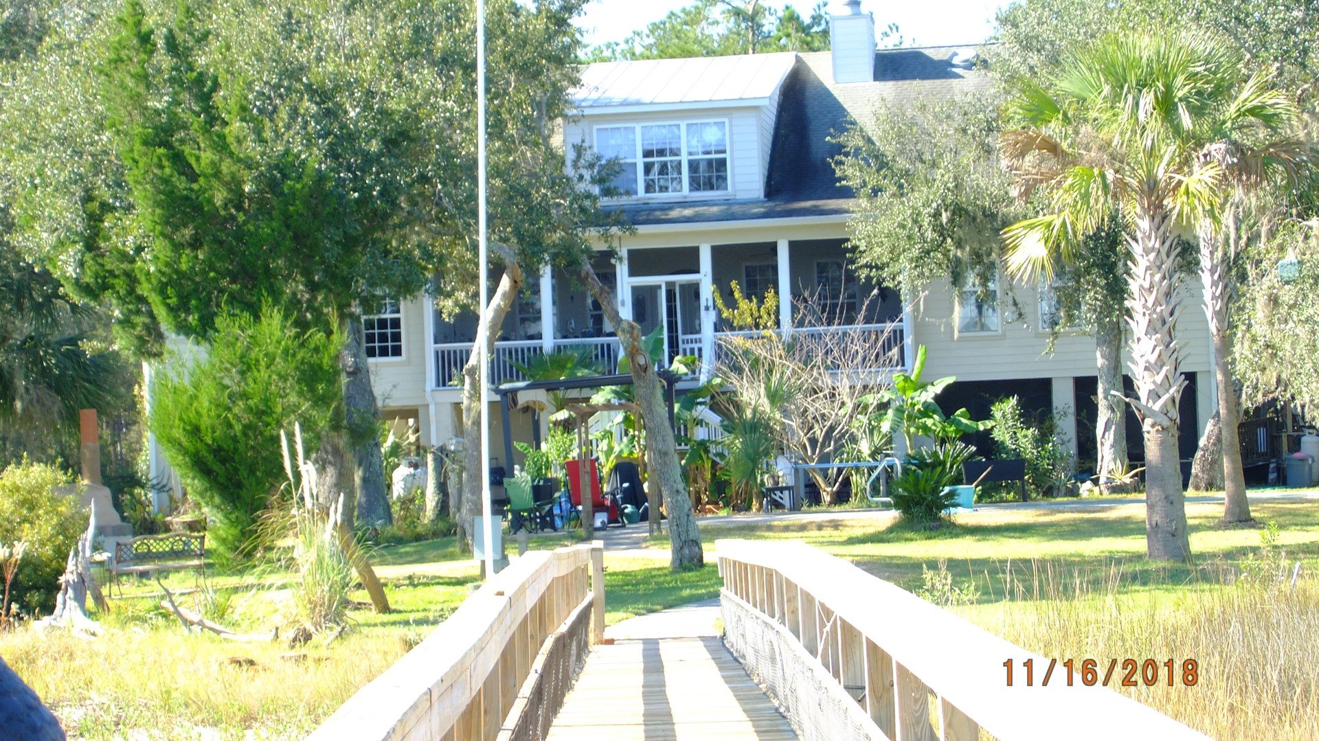 Waterfront Custom Home on 6.7 AC with Dock and Boat-lift!