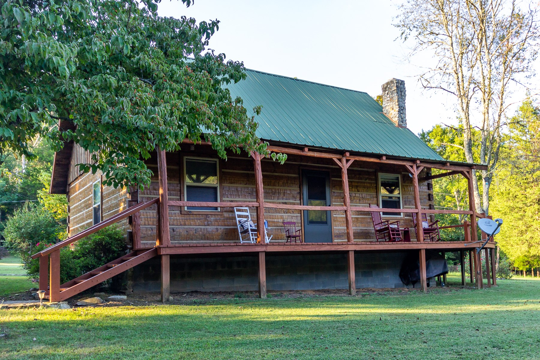 East Tennessee Log Home & Acreage  for Sale | Sneedville TN