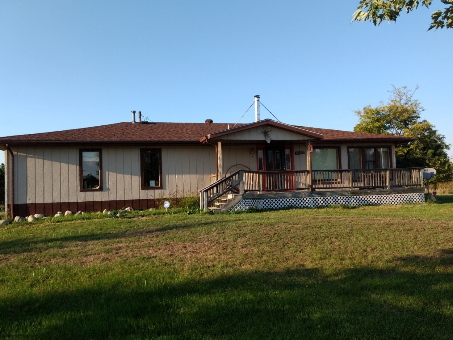 Home and Acreage for Sale Atlanta MI!