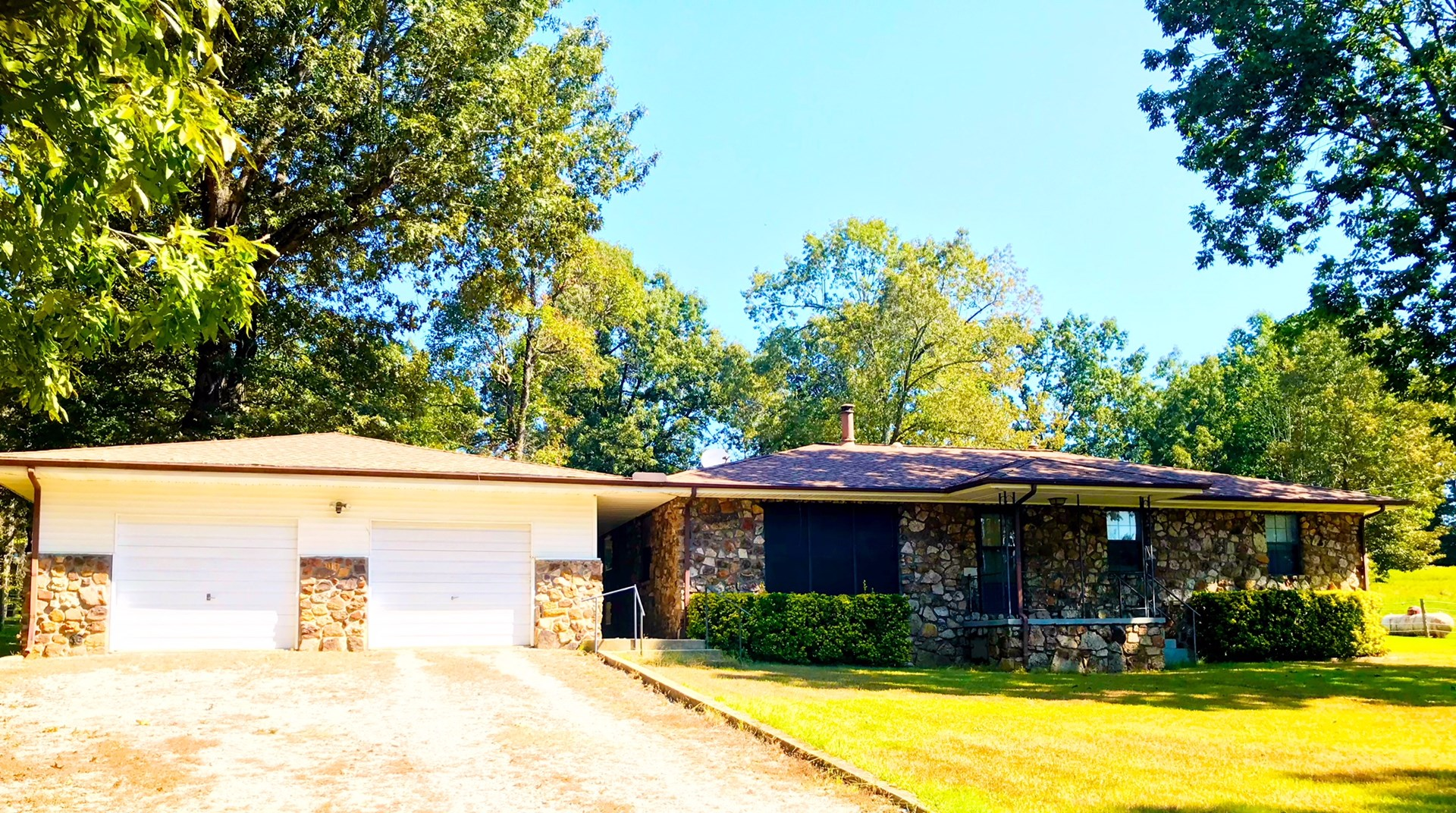 Arkansas Country Home For Sale Hobby Farm on 10 Acres