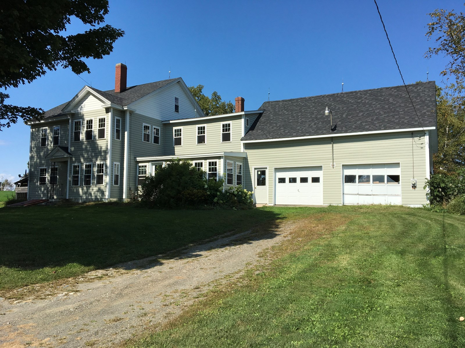 New England Farmhouse For Sale | Ripley, Maine