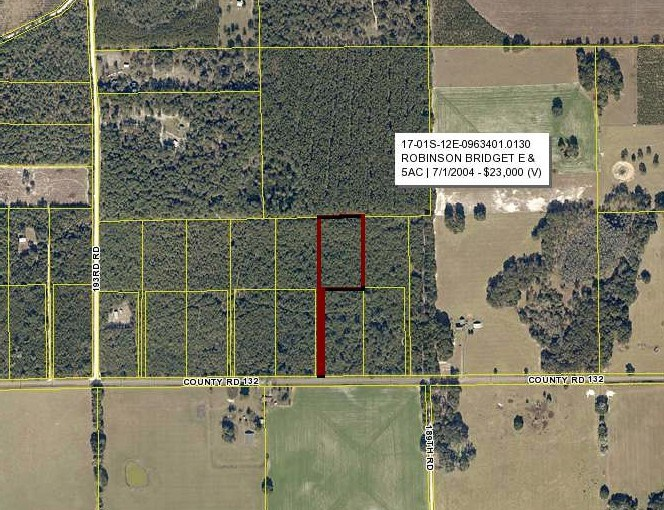 Welcome to the country - 5 acres for sale in North FL