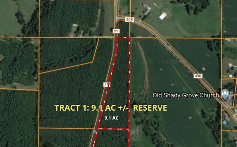 Live Timberland Auction   Tract  1   9 Acres