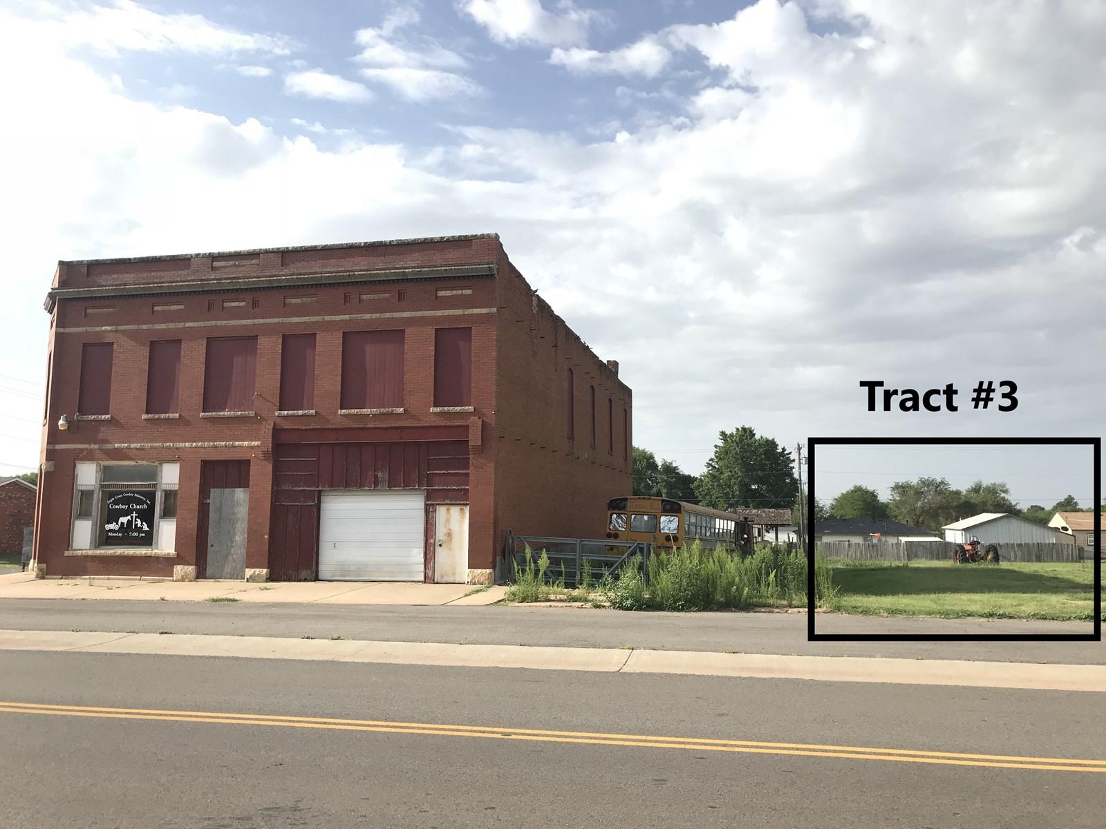 Commercial Building & Lot for Sale, Arapaho, OK 73620