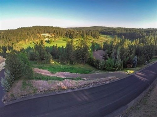 Spokane Washington Golf Course Lot Ridge at Hangman