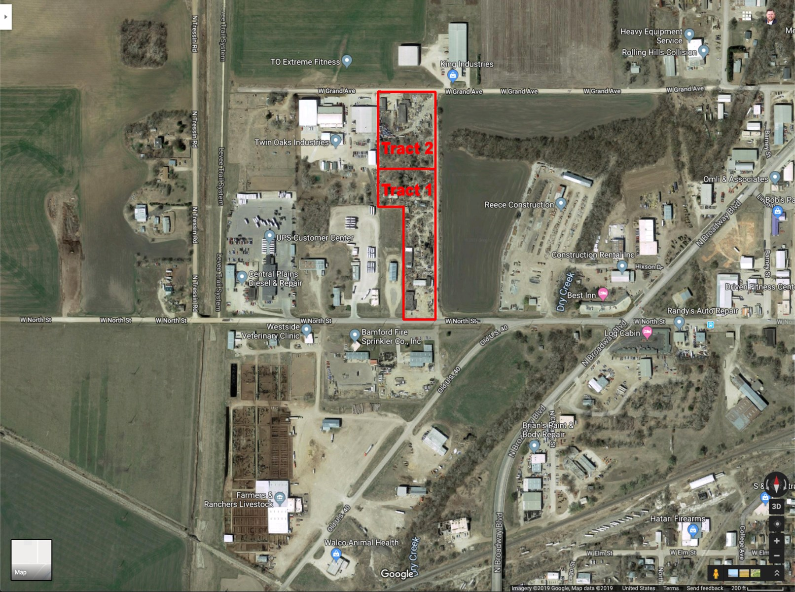 3.82± Acres of Salina Commercial Industrial Development Land